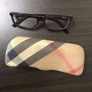 AUTHENTIC Burberry reading frames/glasses